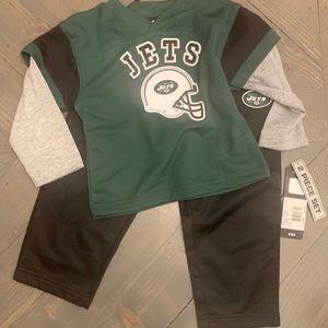 Kids JETS shirt/ pants set